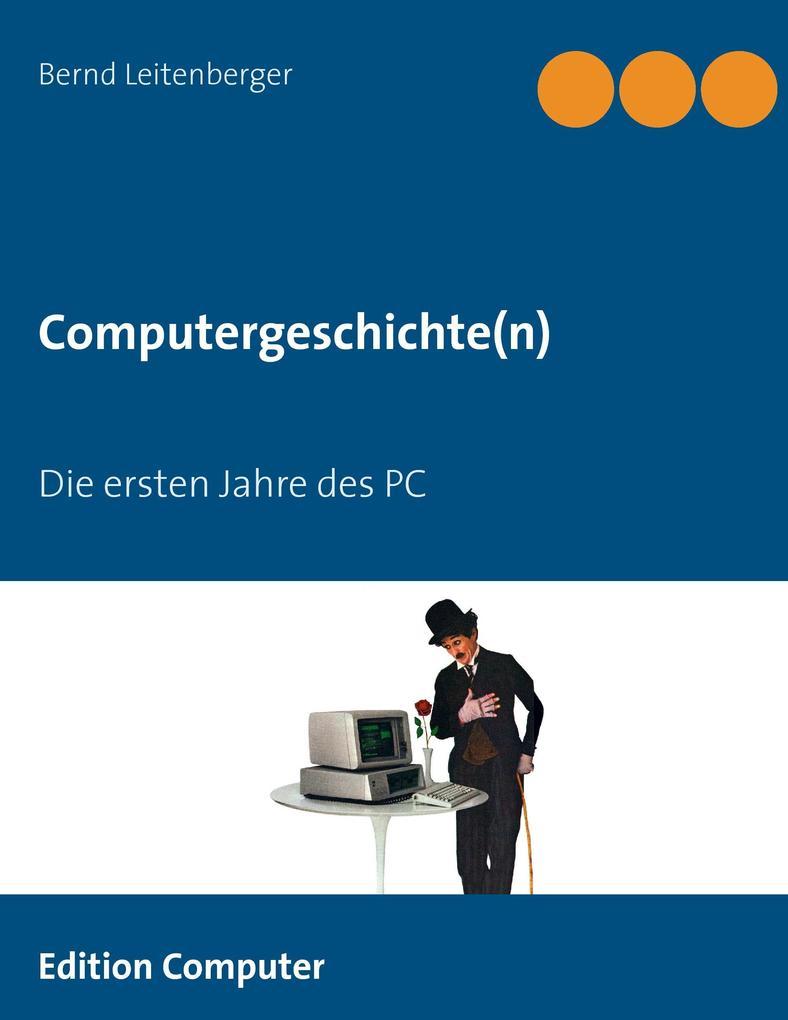 Computergeschichte(n) als Buch (gebunden)