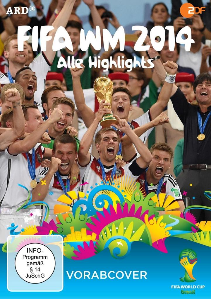FIFA WM 2014 - Alle Highlights als DVD