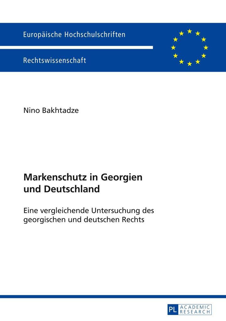 Markenschutz in Georgien und Deutschland als Bu...