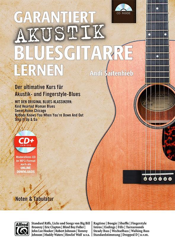 Garantiert Akustik Bluesgitarre lernen als Buch...