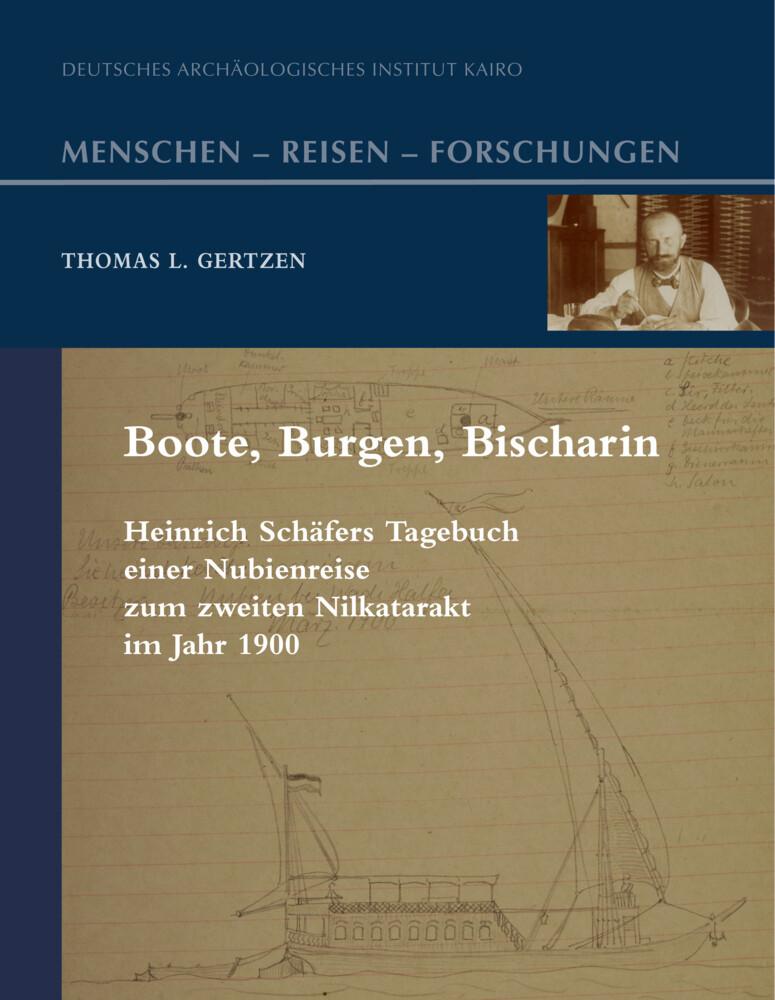 Boote, Burgen, Bischarîn als Buch von Heinrich ...