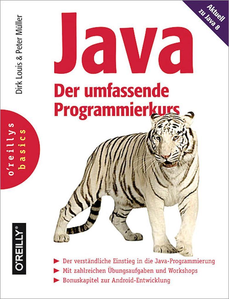 Java - Der umfassende Programmierkurs als eBook epub
