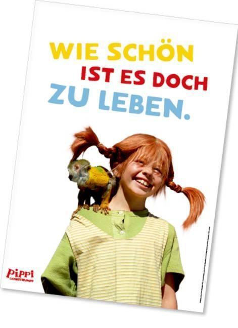 Pippi (Film) Poster Affe