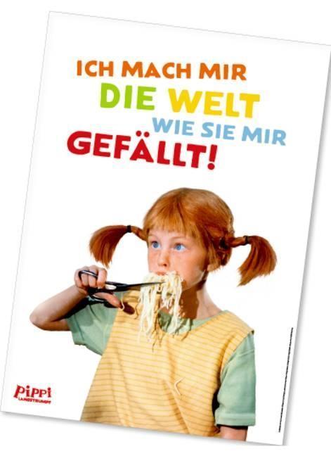 Pippi (Film) Poster Spaghetti