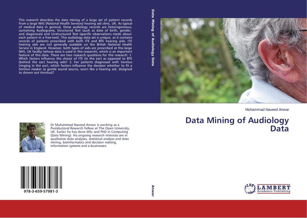 Data Mining of Audiology Data als Buch (gebunden)