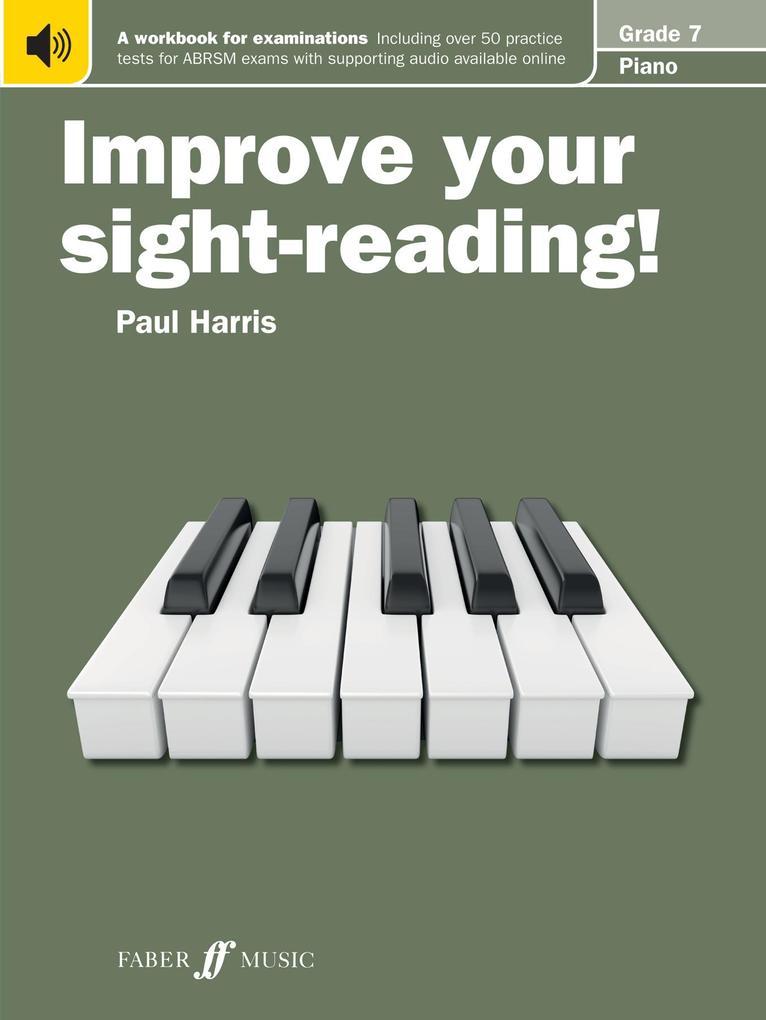 Improve your sight-reading! Piano Grade 7 als Taschenbuch