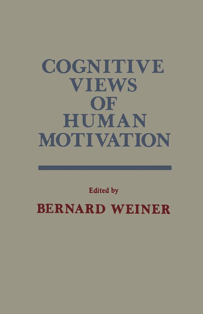 Cognitive Views of Human Motivation als eBook D...