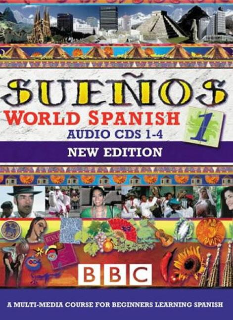 SUENOS WORLD SPANISH 1 CDS 1-4 NEW EDITION als Hörbuch