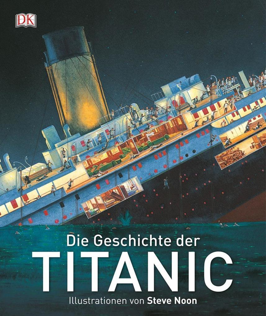 Die Geschichte der Titanic als Buch von