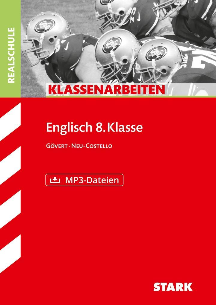 Klassenarbeiten Realschule Englisch 8. Klasse, mit MP3-CD als Buch
