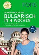 PONS Power-Sprachkurs Bulgarisch in 4 Wochen