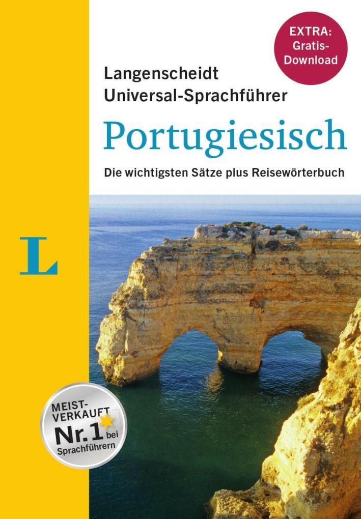 Langenscheidt Universal-Sprachführer Portugiesi...