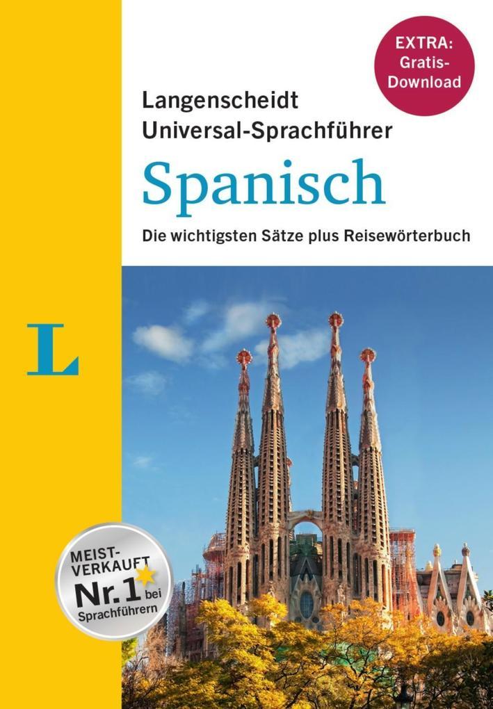 Langenscheidt Universal-Sprachführer Spanisch -...