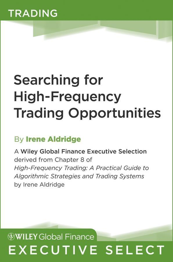 Searching for High-Frequency Trading Opportunit...