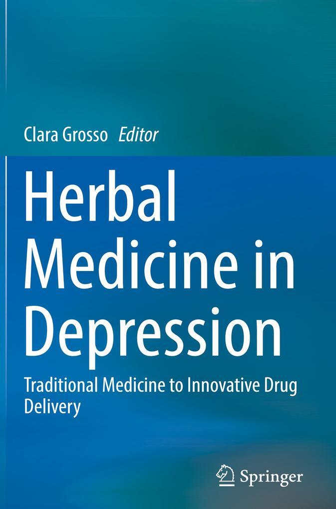 Herbal Medicine in Depression als Buch von
