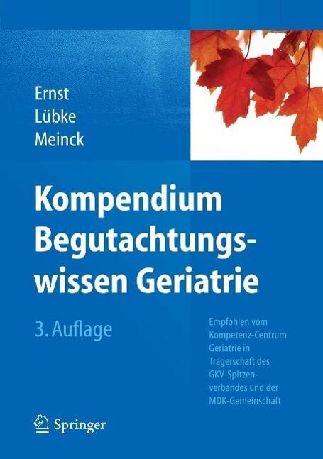 Kompendium Begutachtungswissen Geriatrie als eB...