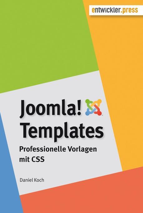 Joomla!-Templates als Buch von Daniel Koch