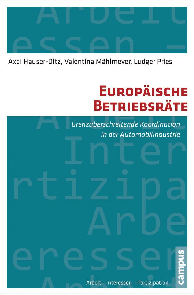 Europäische Betriebsräte als Buch von Axel Haus...
