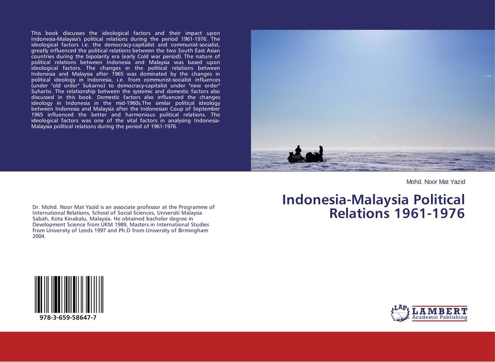 Indonesia-Malaysia Political Relations 1961-197...