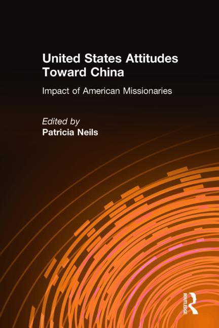 United States Attitudes Toward China als Buch (gebunden)
