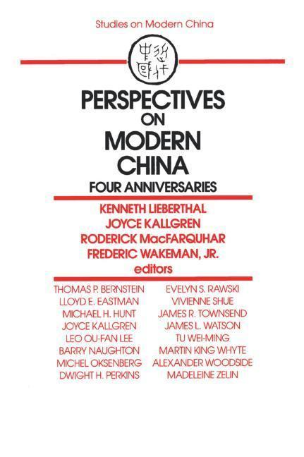 Perspectives on Modern China: Four Anniversaries als Taschenbuch