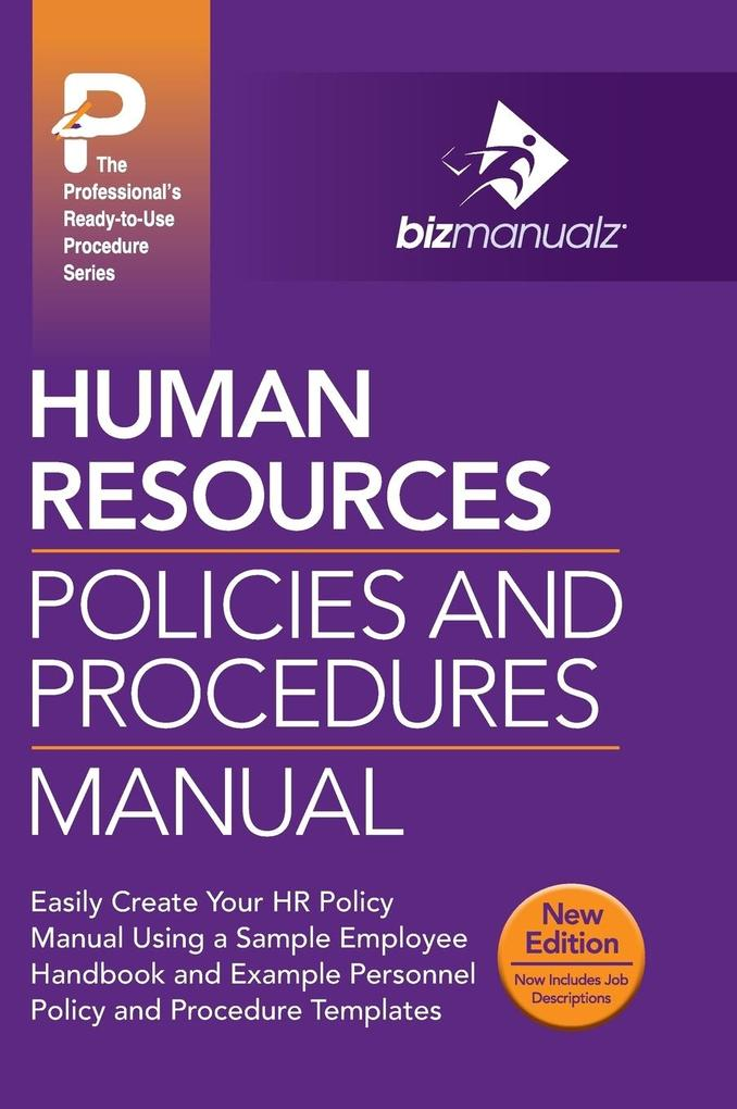 Human Resources Policies and Procedures Manual ...