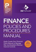 Finance Policies and Procedures Manual
