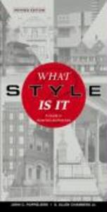 What Style Is It?: A Guide to American Architecture als Taschenbuch