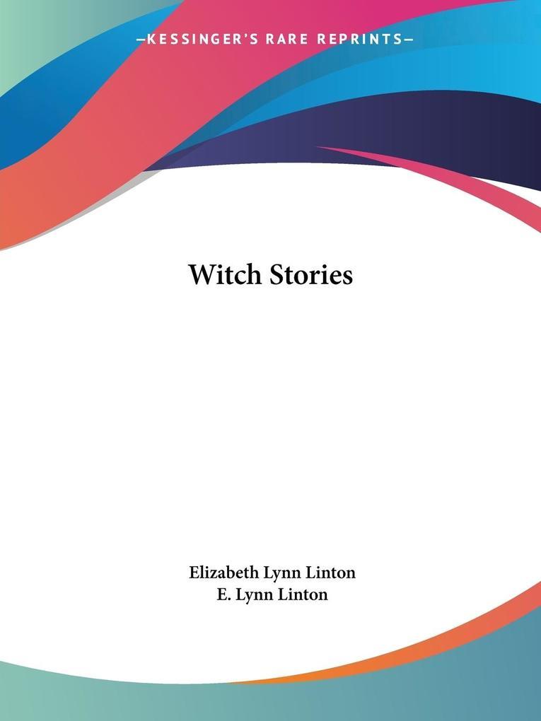 Witch Stories als Taschenbuch