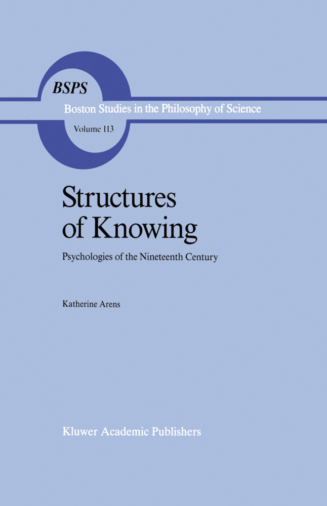 Structures of Knowing als Buch