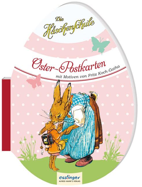 Die Häschenschule - Oster-Postkarten