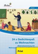 24x Gedichtespaß zu Weihnachten (PR)