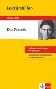 """Klett Lektürehilfen Franz Kafka """"Der Proceß"""""""
