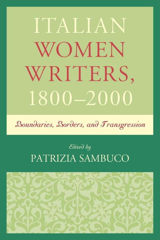 Italian Women Writers, 1800-2000 als eBook Down...