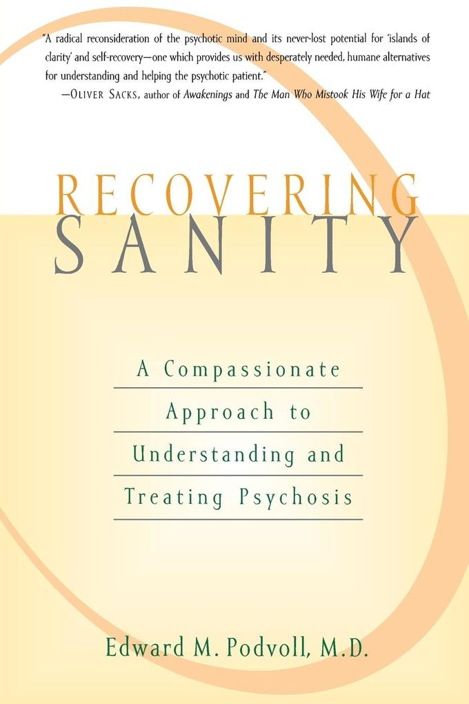 Recovering Sanity als Buch