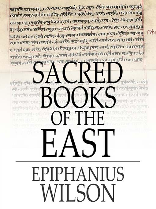 Sacred Books of the East als eBook Download von