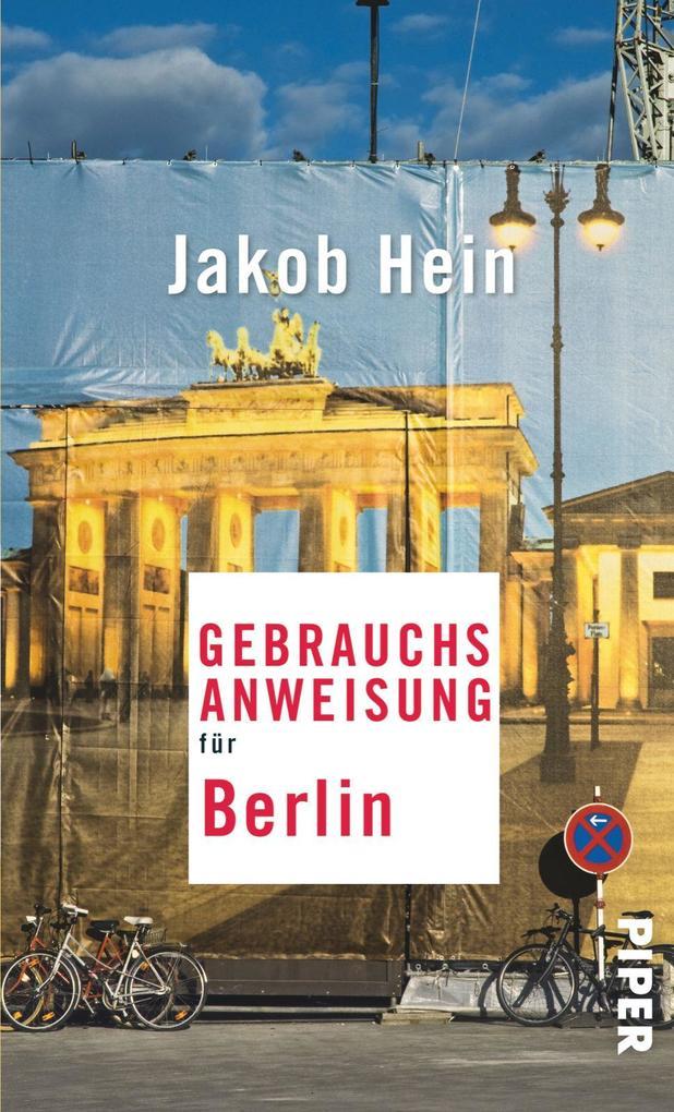 Gebrauchsanweisung für Berlin als Taschenbuch v...