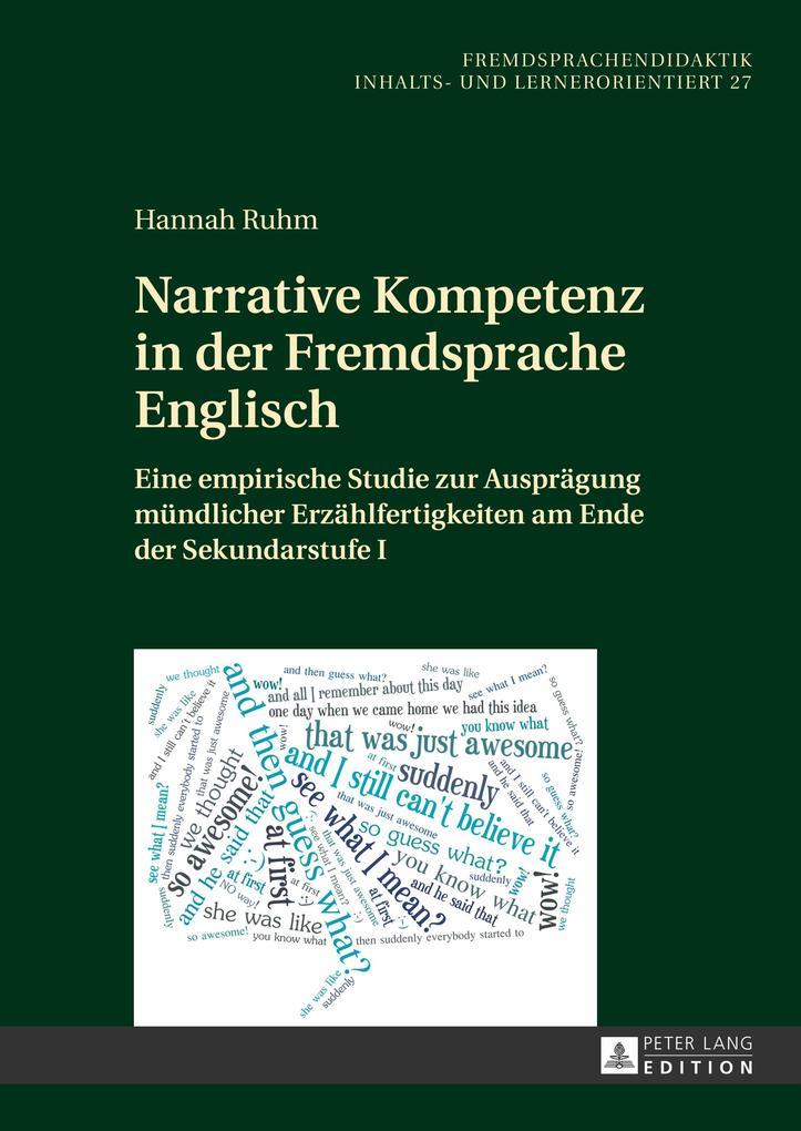 Narrative Kompetenz in der Fremdsprache Englisc...