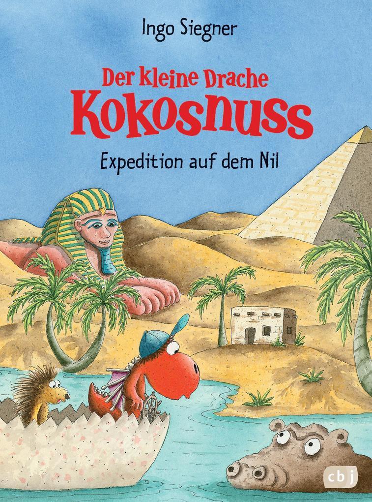 Der kleine Drache Kokosnuss 23 - Expedition auf dem Nil als Buch