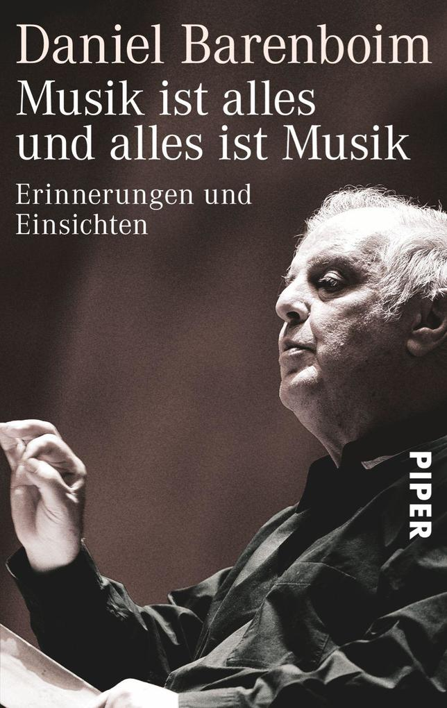 Musik ist alles und alles ist Musik als Buch vo...