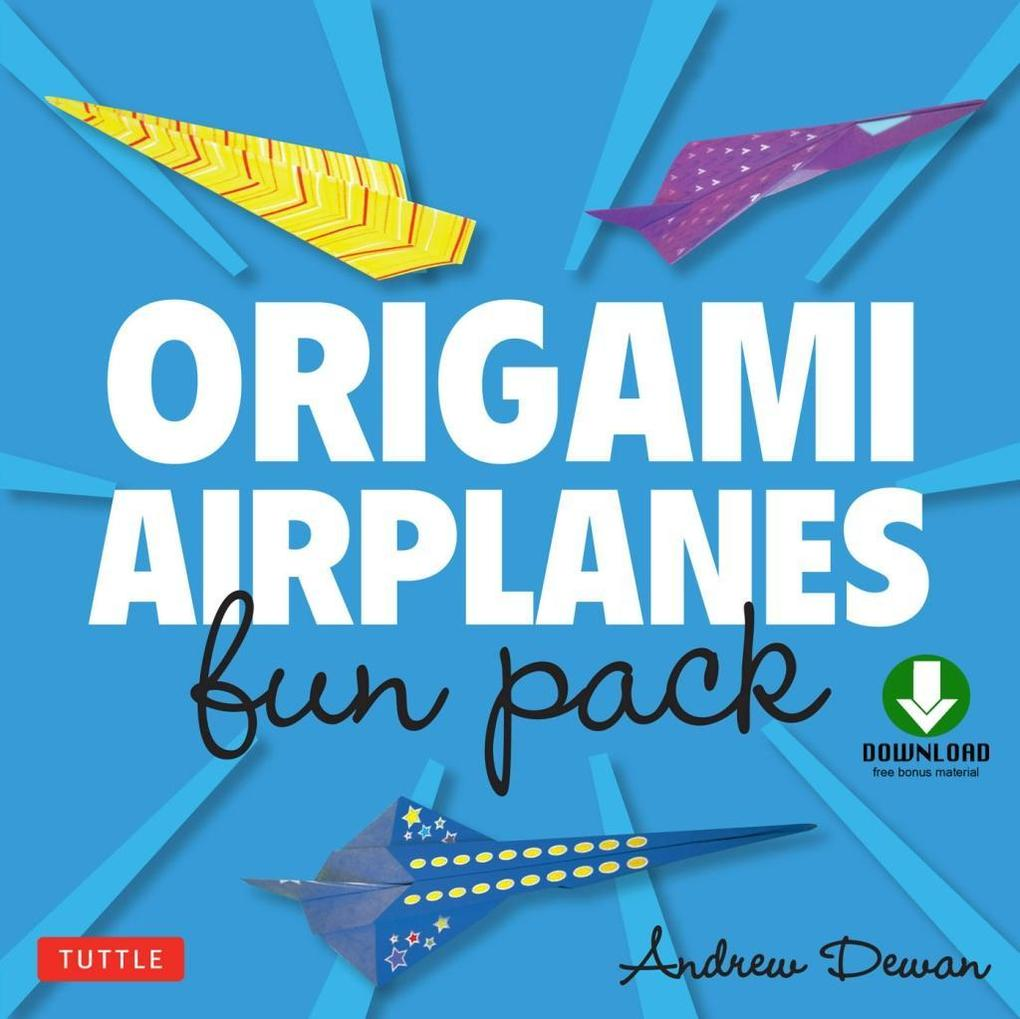 Origami Airplanes Fun Pack als eBook Download v...
