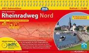 ADFC-Radreiseführer Rheinradweg Nord 1 : 75.000