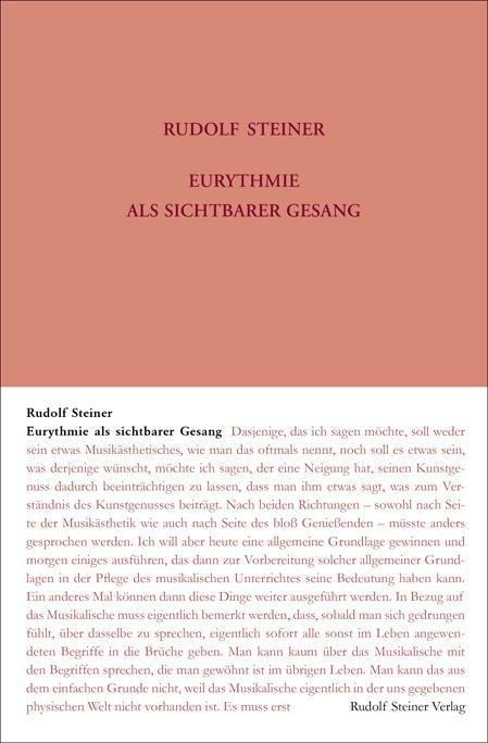 Eurythmie als Sichtbarer Gesang als Buch