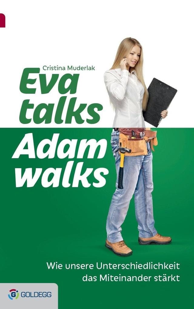 Eva talks, Adam walks als Buch