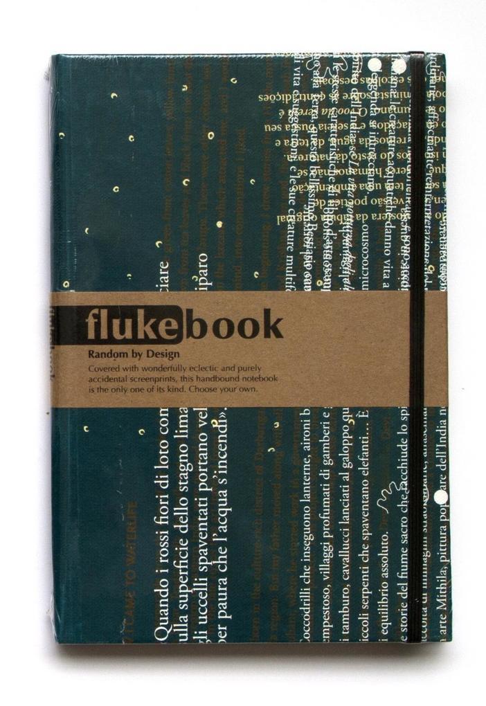 Fluke Book. gross, liniert als Buch von