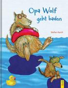 Opa Wolf geht baden