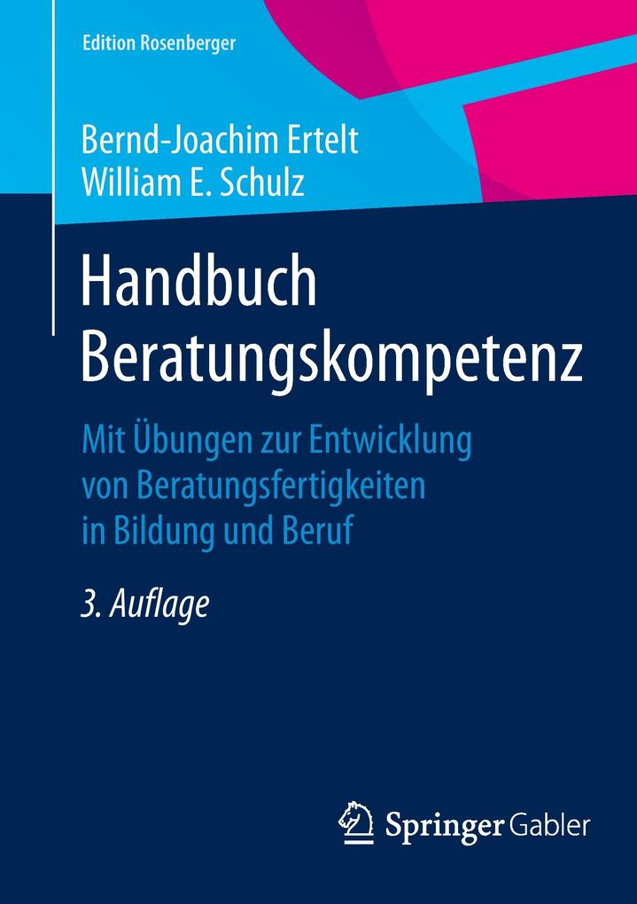 Handbuch Beratungskompetenz als Buch