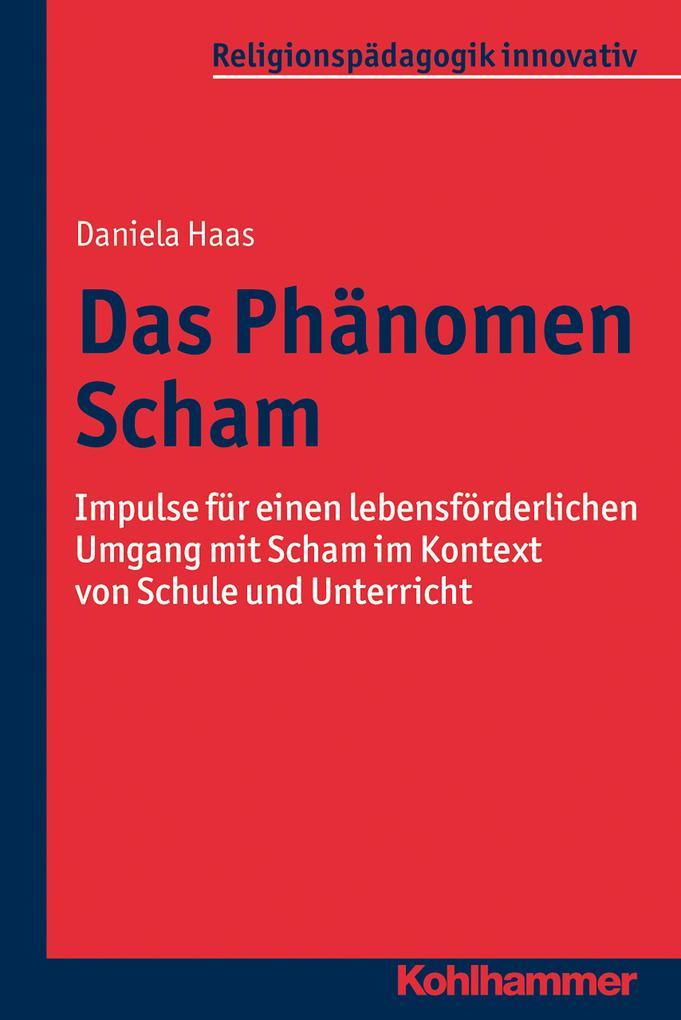 Das Phänomen Scham als eBook Download von Danie...