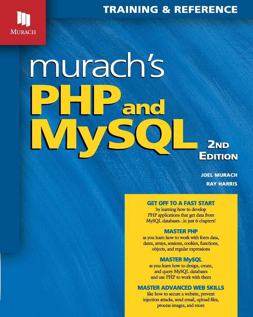 Murach´s PHP and MySQL (2nd Edition) als Buch v...