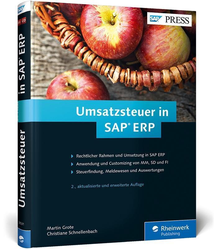 Umsatzsteuer in SAP ERP als Buch von Martin Gro...